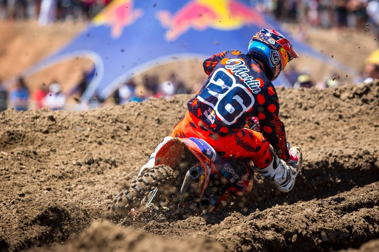 After taking some time off to recover from an injury suffered in supercross, Alex Martin got off to a solid start with a second overall at Hangtown.