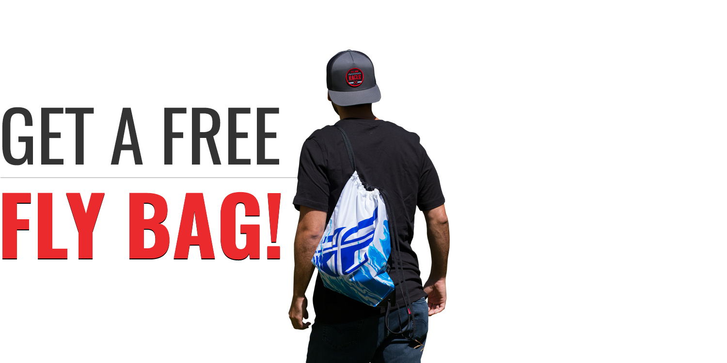 Subscribe to Racer X Illustrated and get Fly Racing Draw String Bag