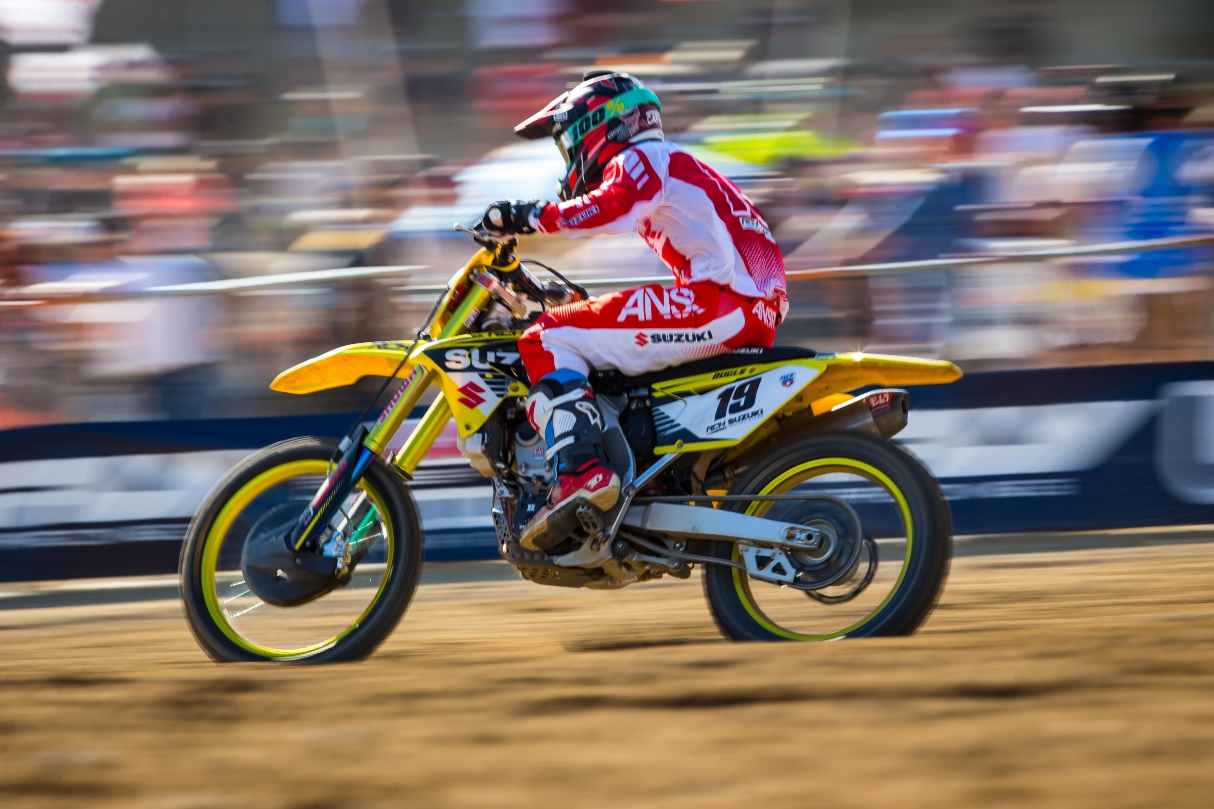 Suzuki And Rch Conclude Partnership Motocross Racer X Online