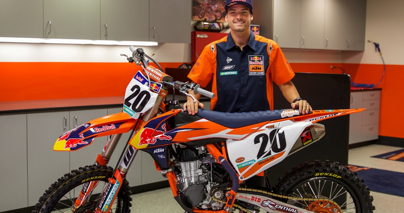 Broc Tickle To Red Bull Ktm