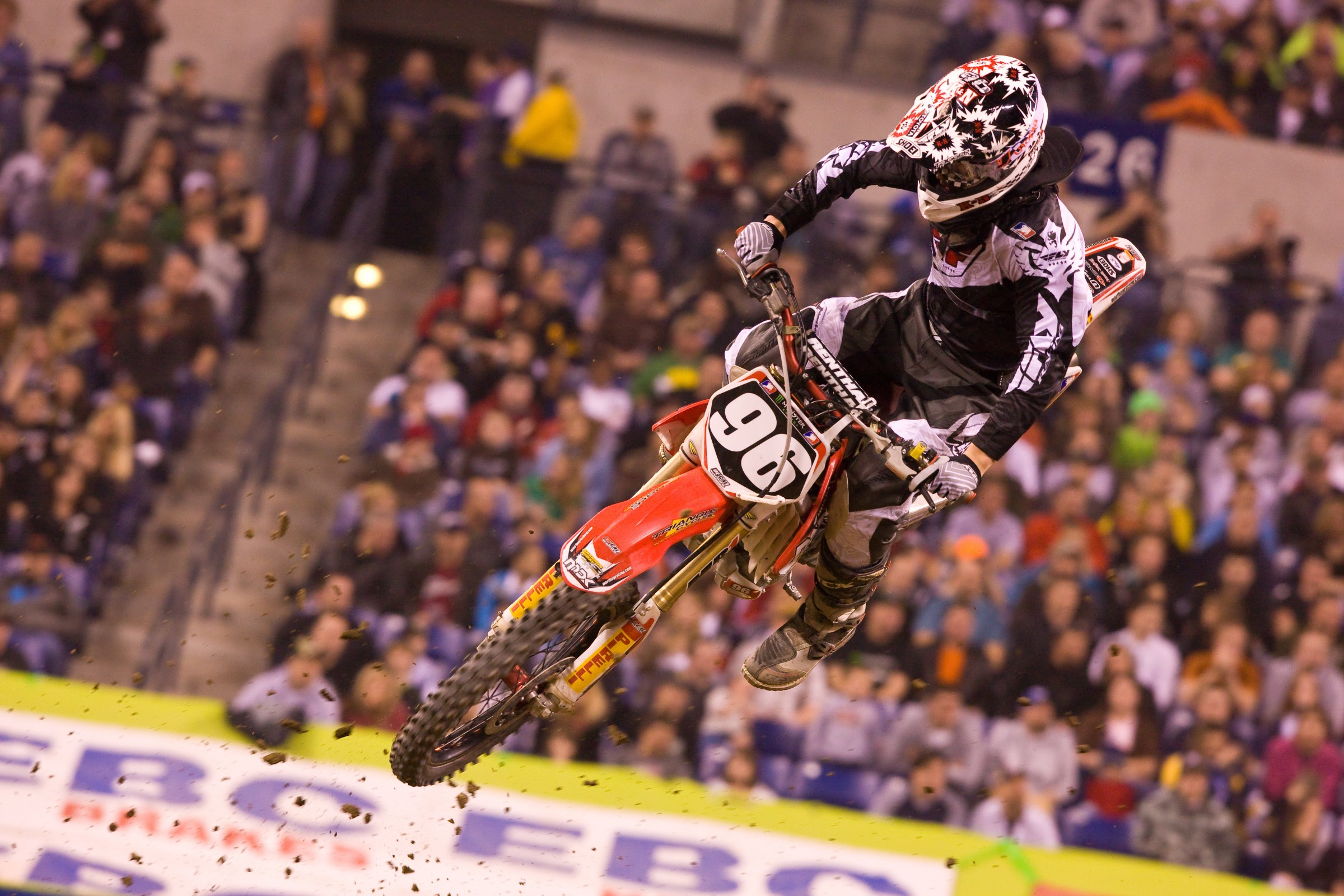 Tyler raced the 2009 250SX East Region, his only full year in Monster Energy Supercross.