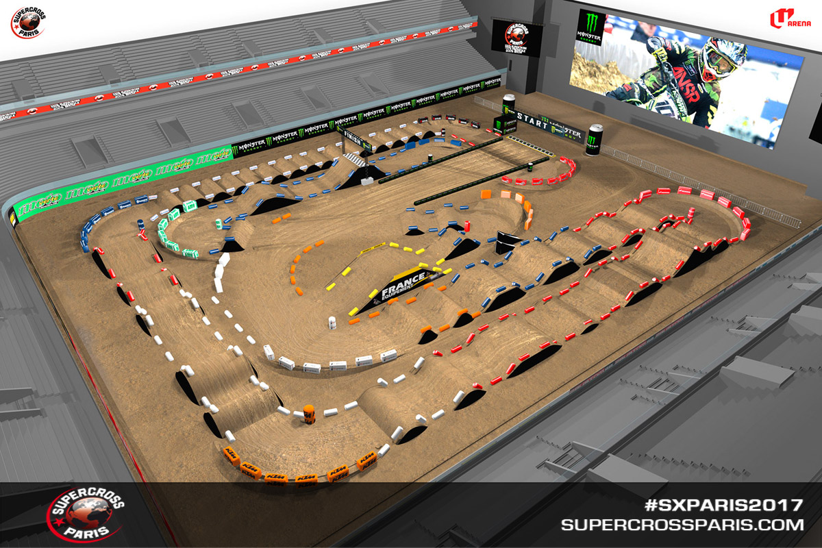 The track map for this weekend.