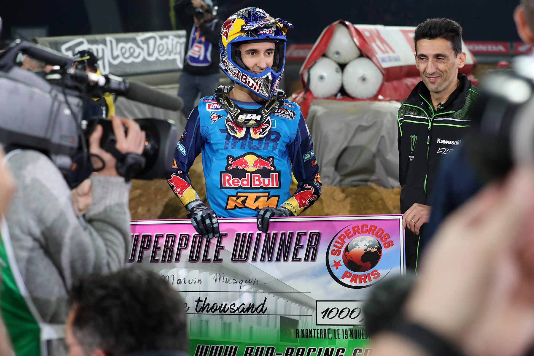 For a second straight year, Musquin won King of Paris.