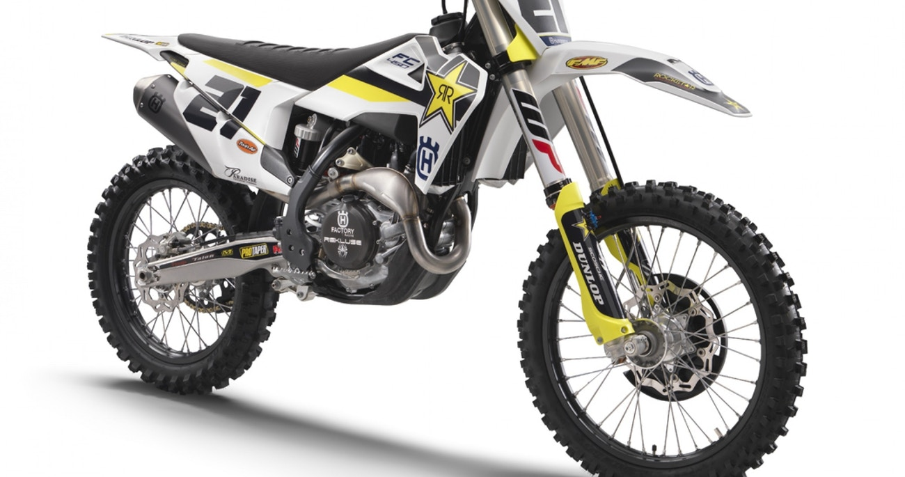 Husqvarna Releases FC 450 Rockstar Edition - Racer X Online