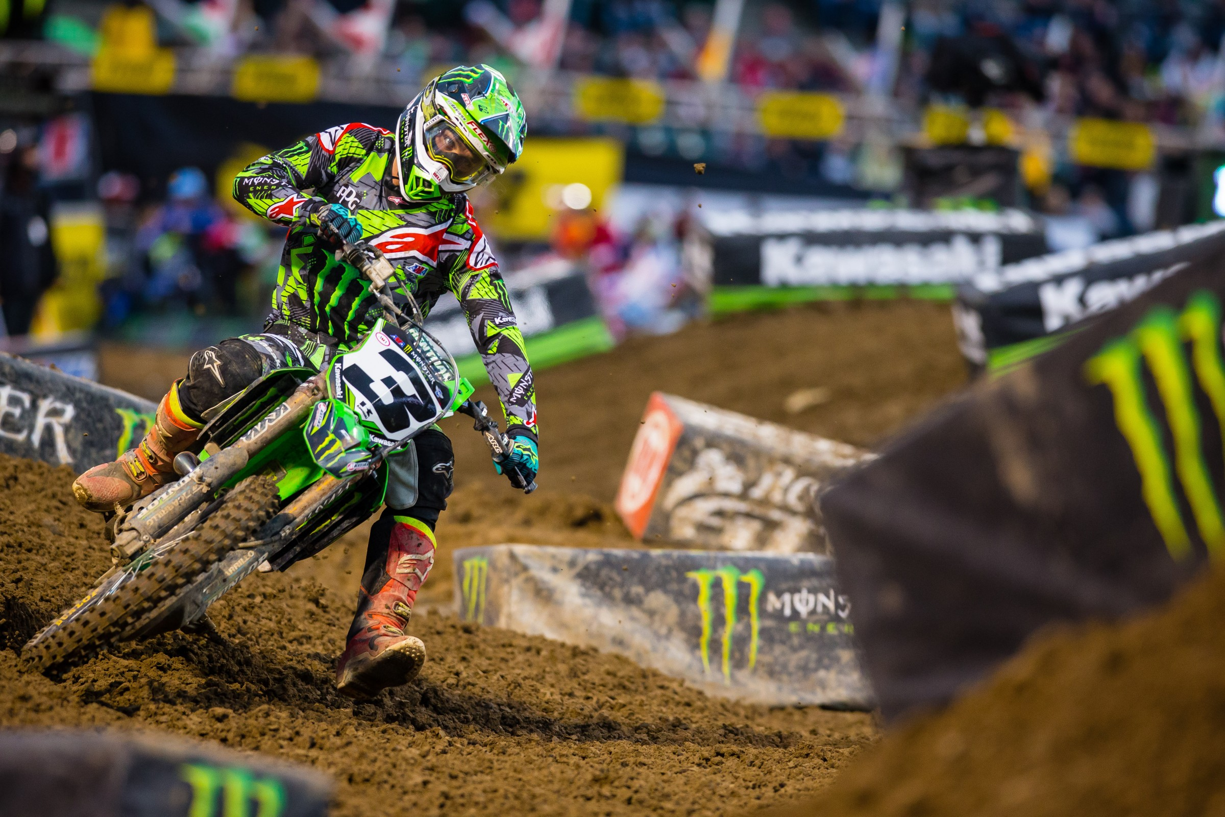 Tomac won nine main events in 2017.