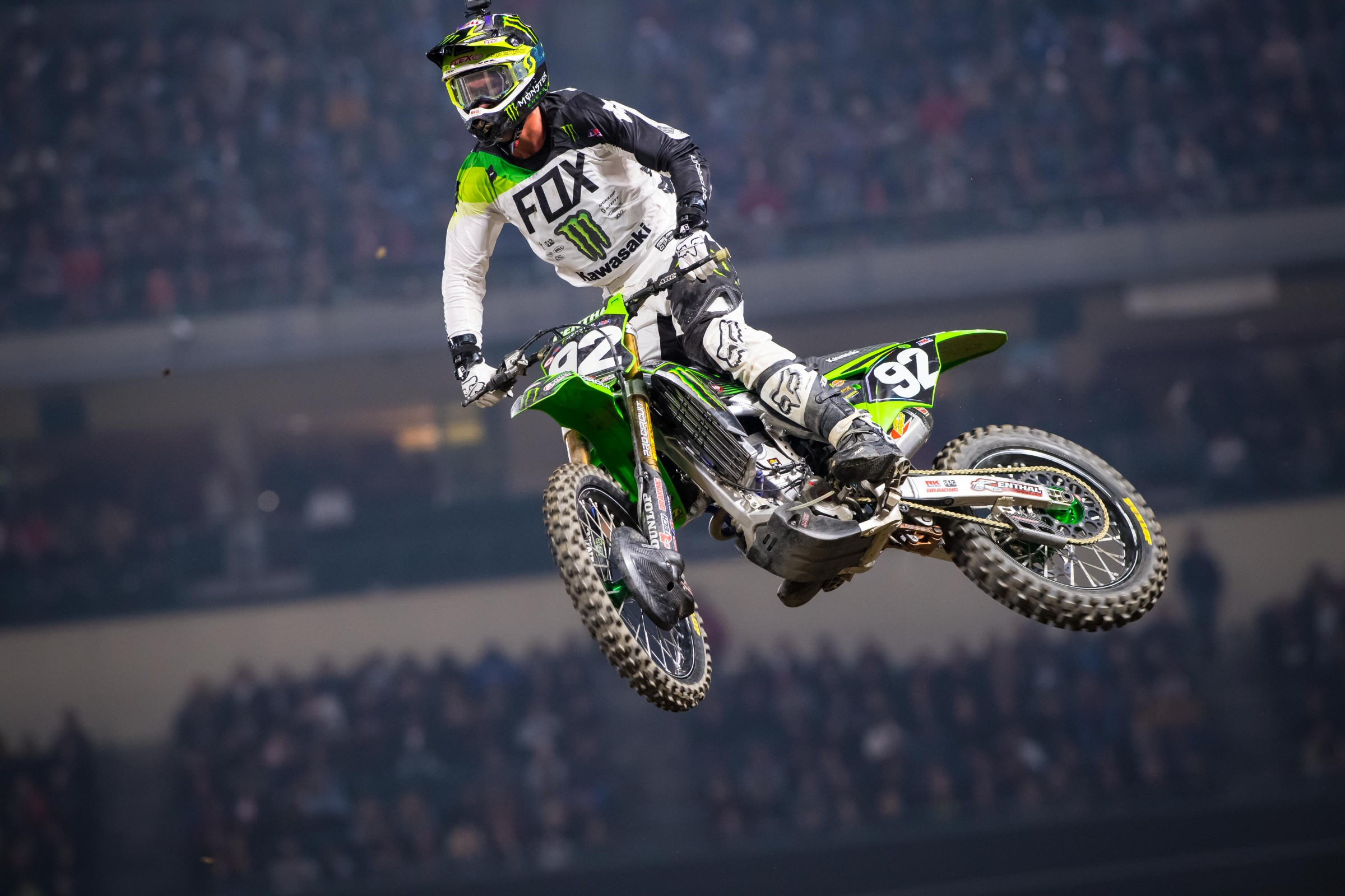 Cianciarulo made the podium behind Shane McElrath and Aaron Plessinger.