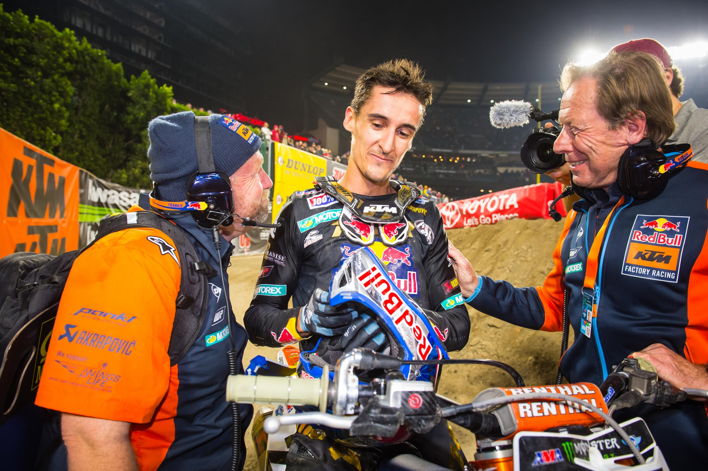 Musquin brought his successful off-season record into A1.