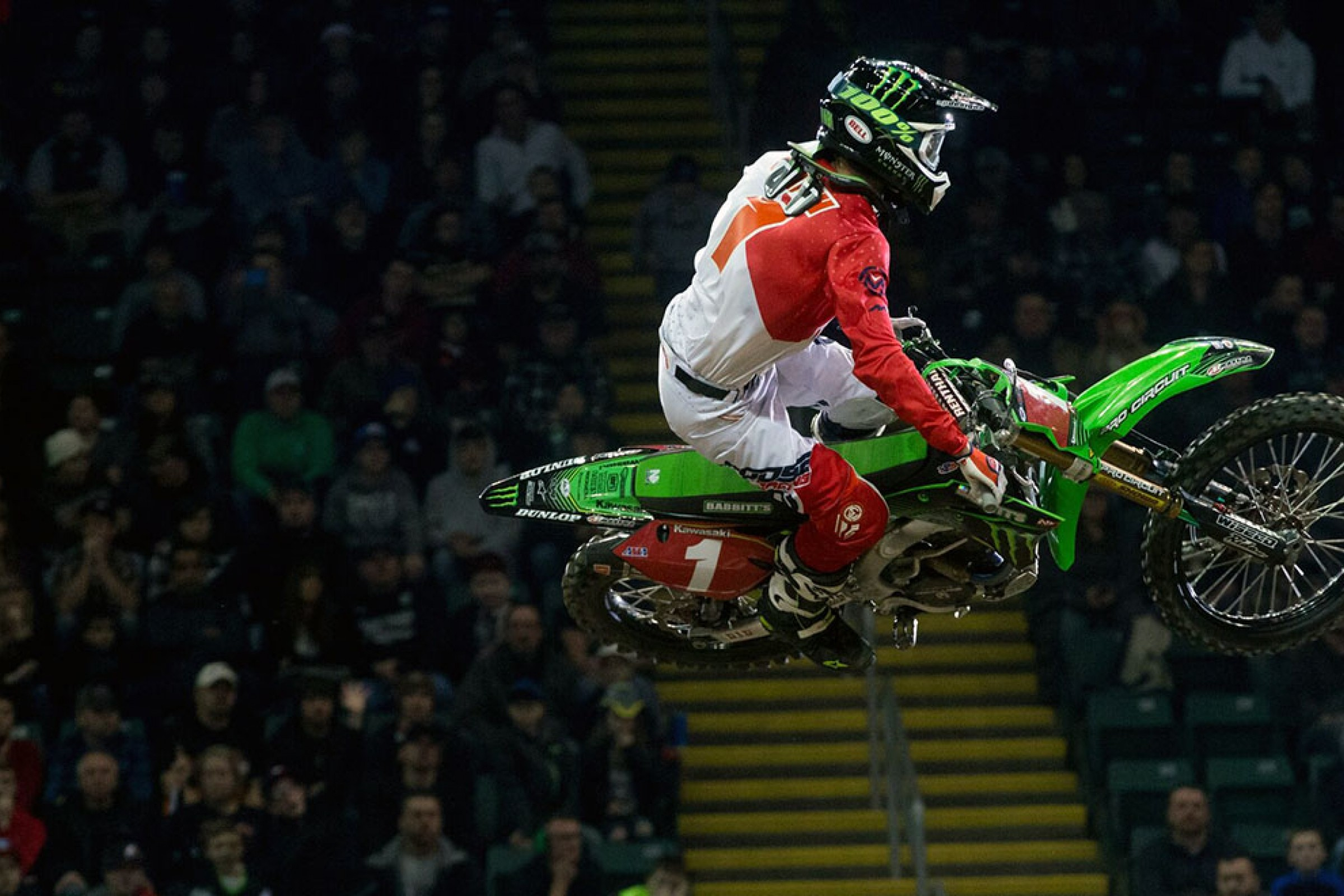 Gavin Faith Wins Round 2 of Amsoil Arenacross