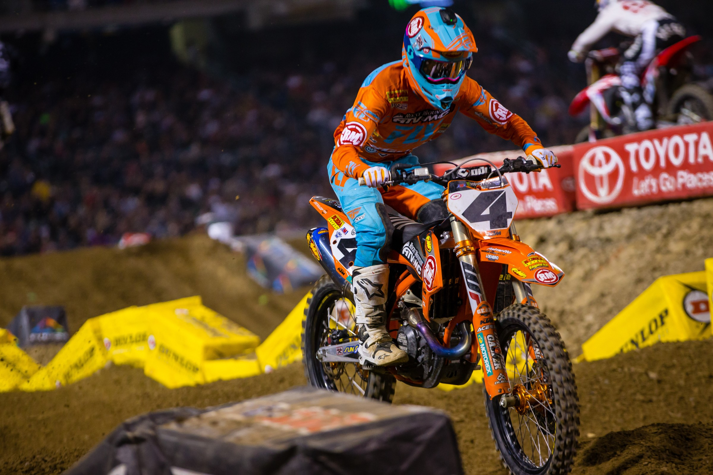 Baggett had his best night of the season so far, landing on the podium last weekend.