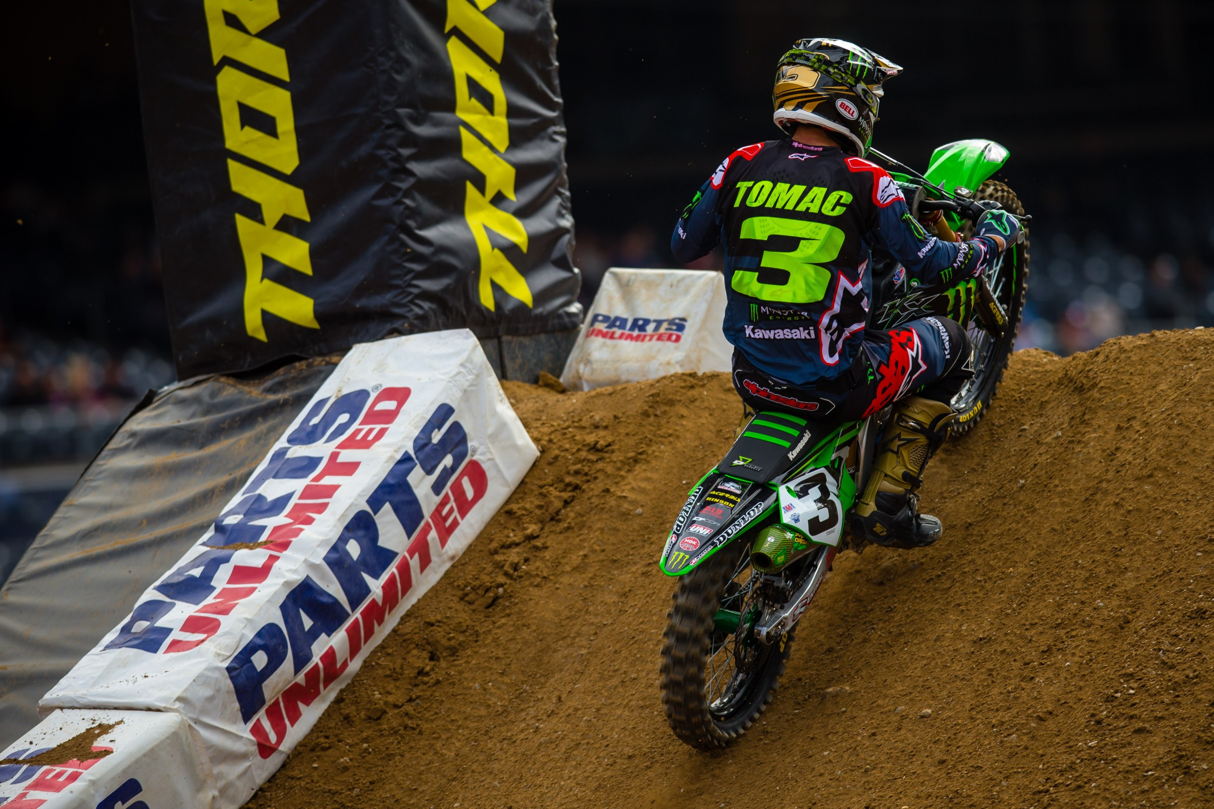 Tomac is now 77 points behind leader Anderson in overall standings.