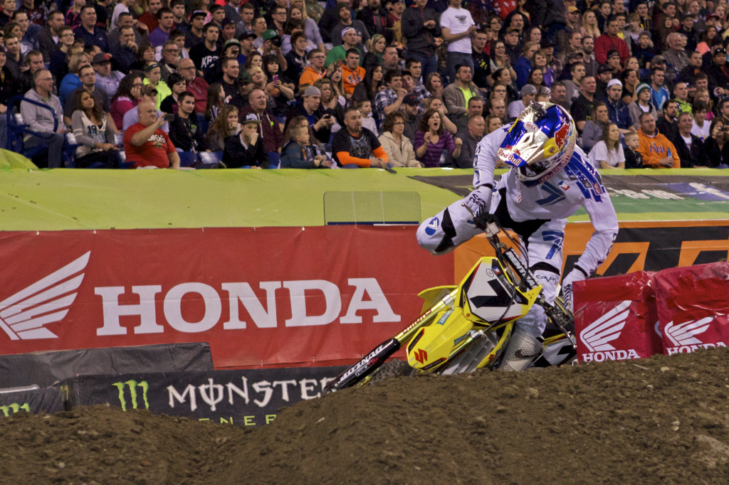 Juxtaposing his amazing talent are the many head injuries suffered by James Stewart. It will be interesting to see how guys like Stewart, Travis Pastrana, and Broc Hepler do as they get older and move on to other things.