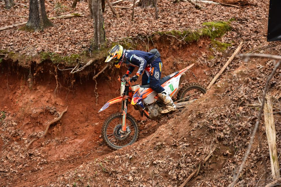 Josh Toth took the win at the Big Buck GNCC and is hoping to earn his second straight XC2 250 Pro Championship this year.