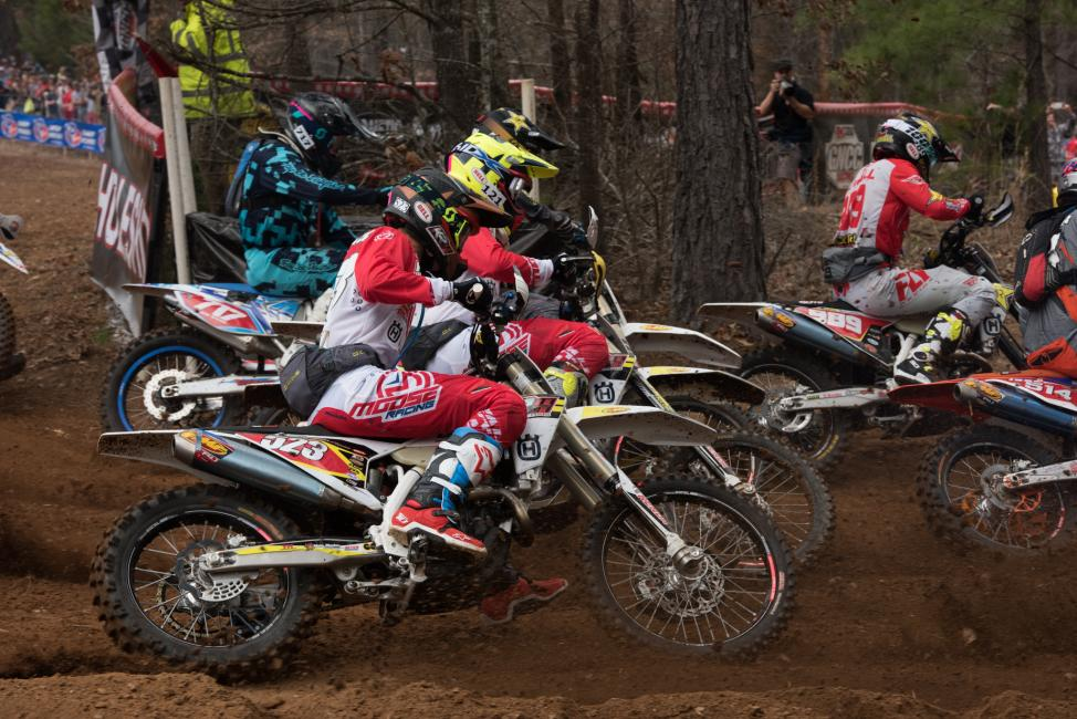 Layne Michael made his XC1 Open Pro debut at round one and finished sixth in the class.