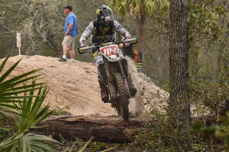 Josh Strang had an impressive ride this weekend in Florida.
