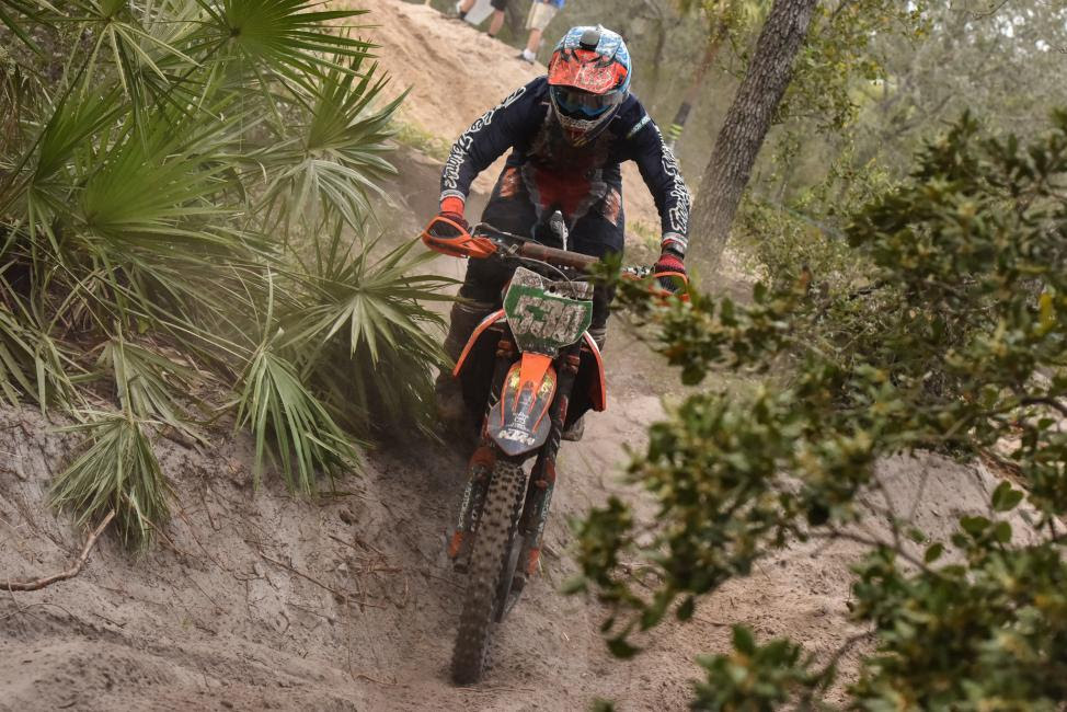 Ben Kelley earned his first-ever XC2 250 Pro class win after making the pass in the last couple miles.