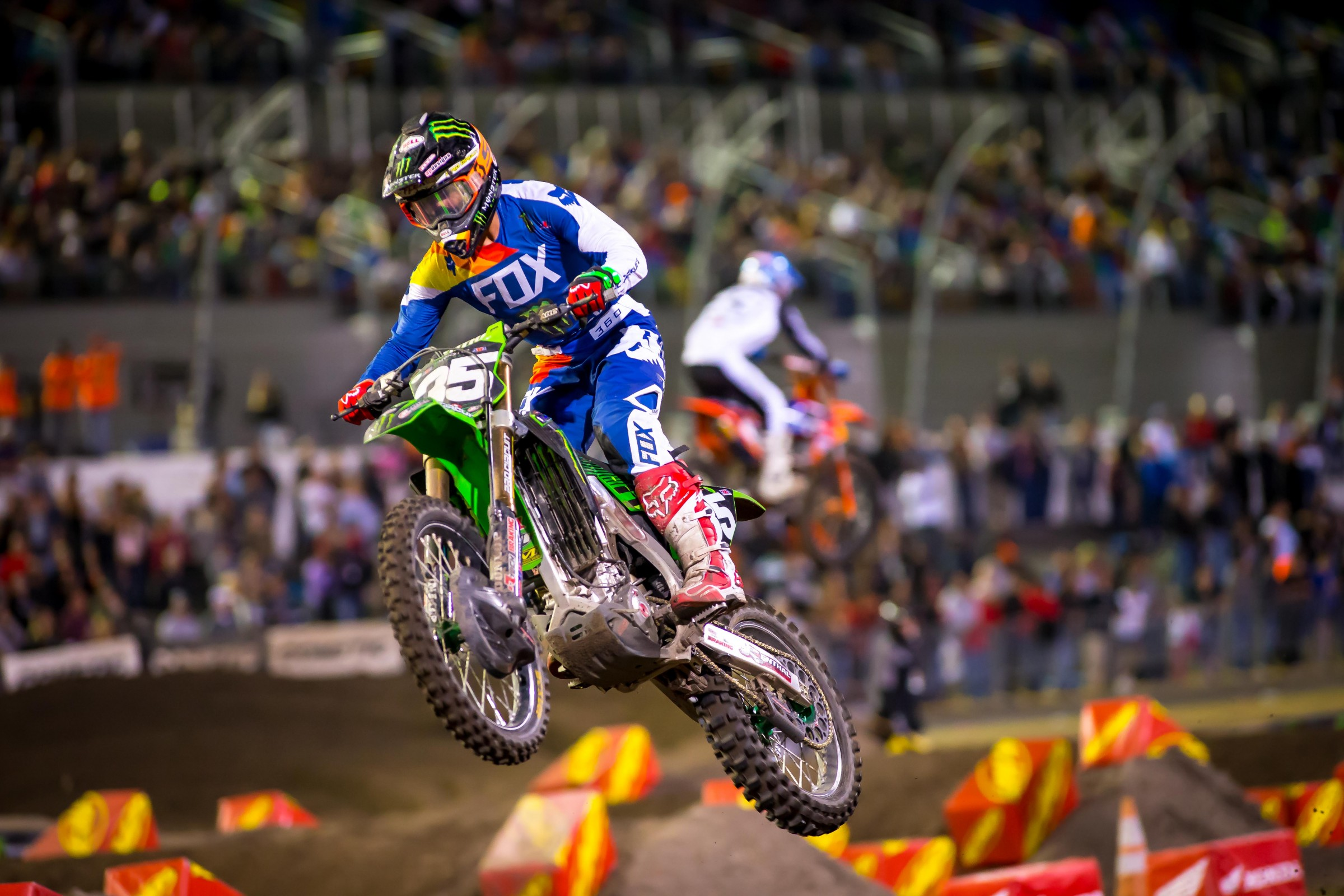 Coming off of two straight wins in Atlanta and Tampa, Forkner finished third in Daytona.