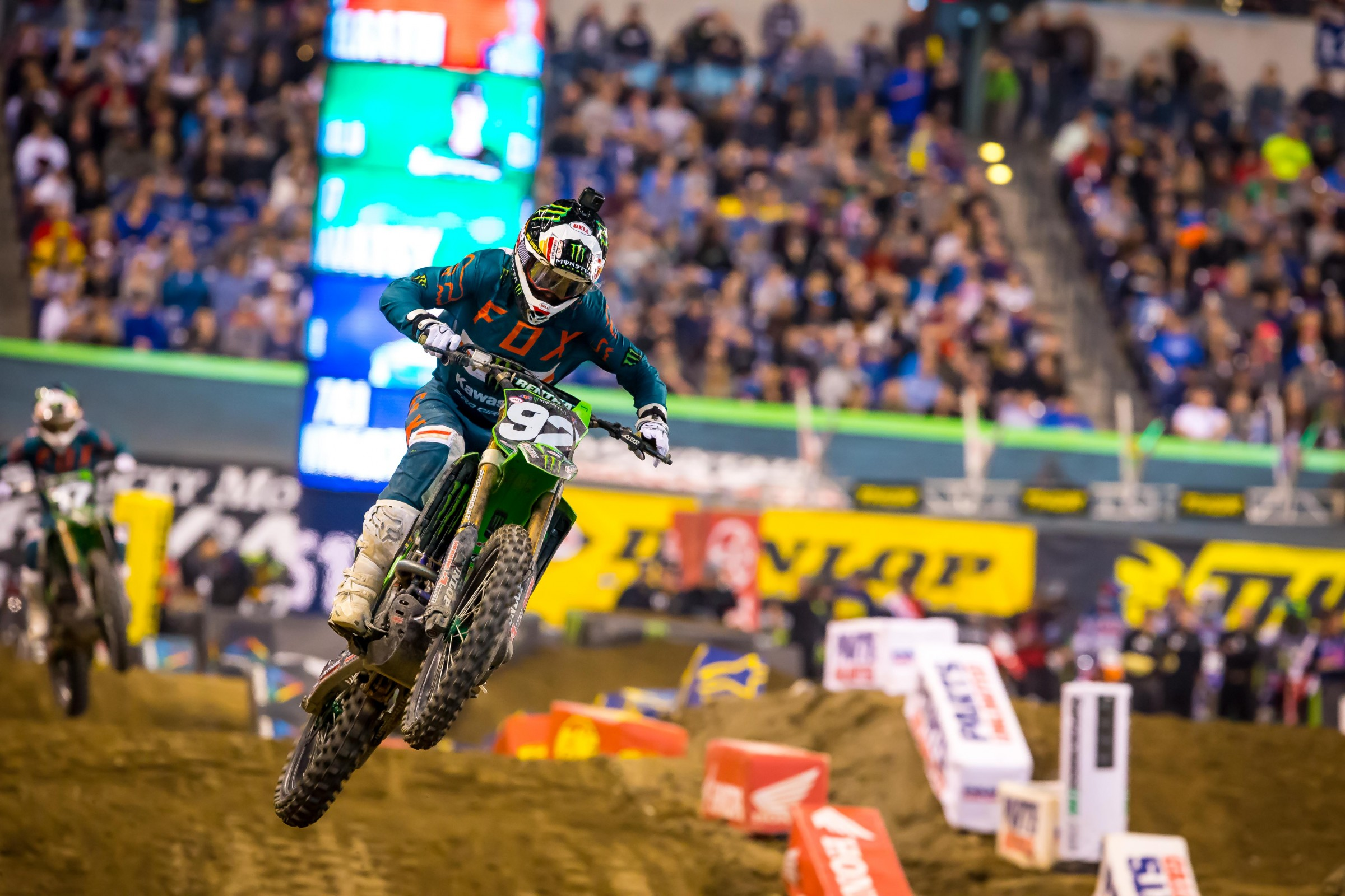 Cianciarulo will still receive second-place points for his finish on Saturday night.