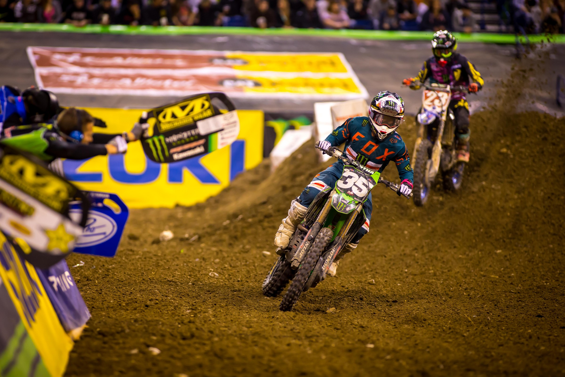 Can Savatgy (35) pick up points on Plessinger this weekend?