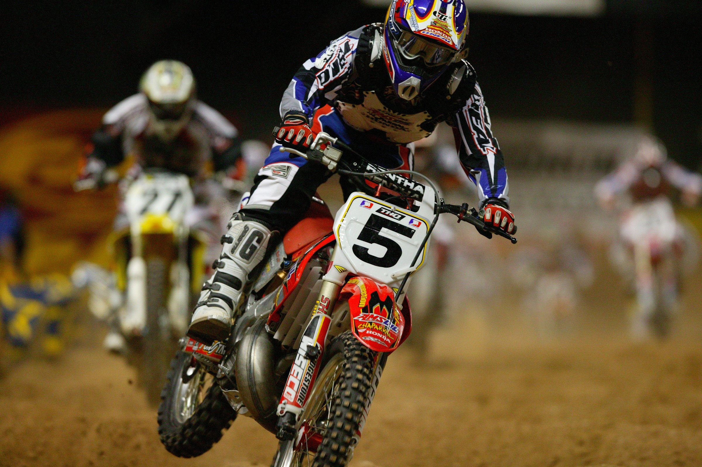 LaRocco earned third place overall behind Chad Reed and Kevin Windham in 2004.