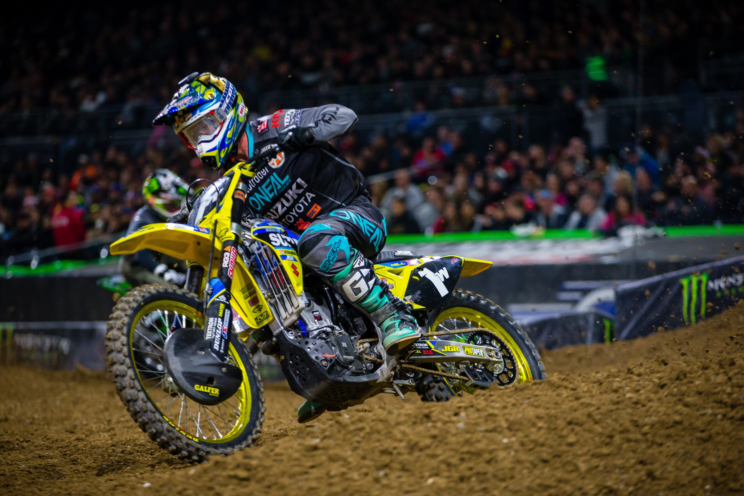 Hill, who moonlighted in 450SX earlier this year, will move up to the premiere class in 2019.