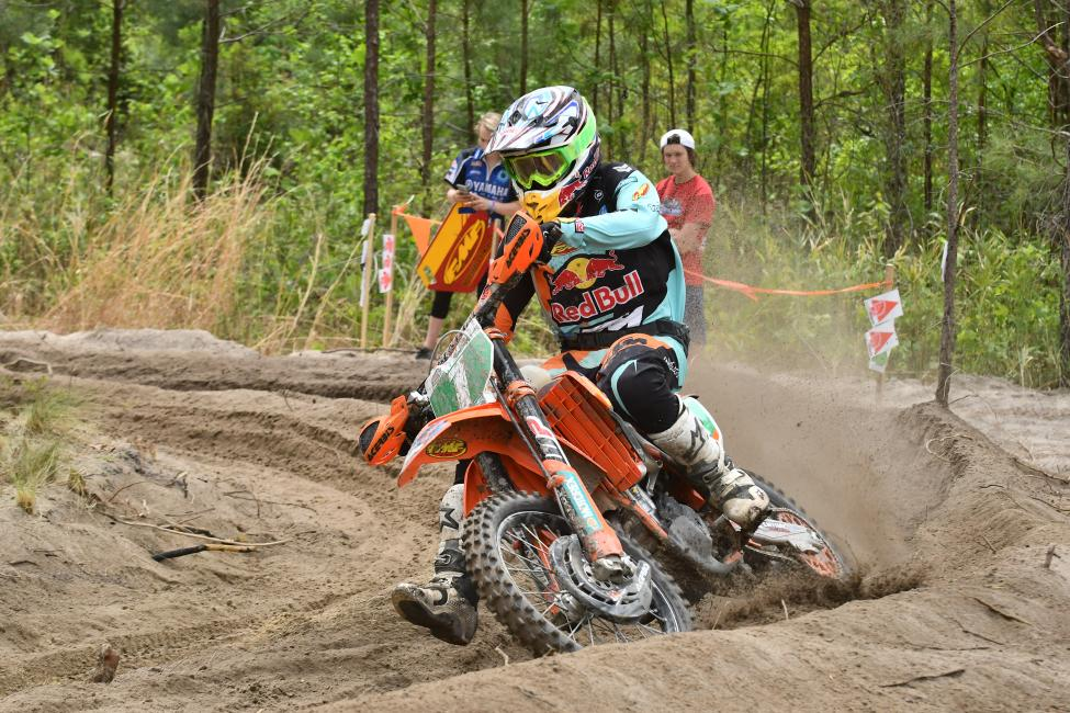 Josh Toth returned to the center of the podium in the XC2 250 Pro class.