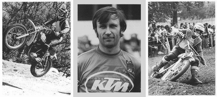The great Russian rider Gennady Moiseev was on his way to the first of his three FIM World Motocross titles in 1974.