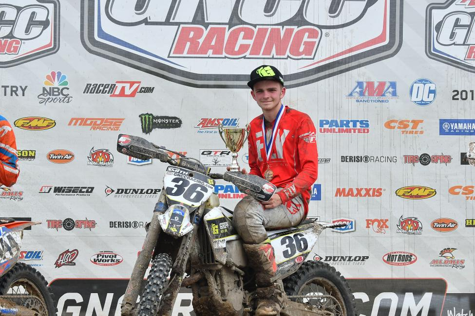 Conner Smith took the Open A class win and Top Amateur honors at round six.