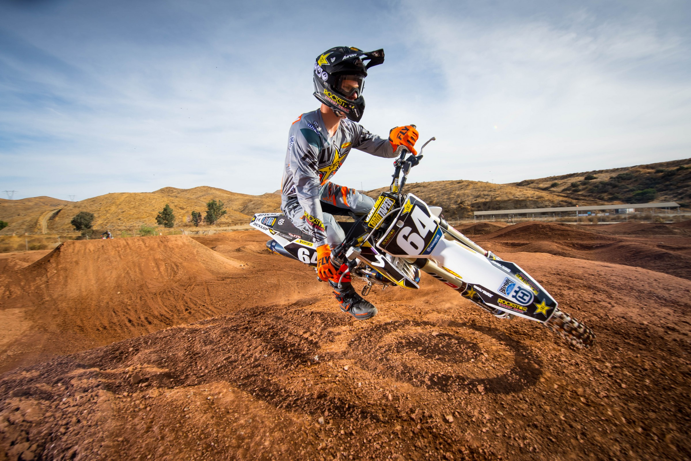 Mosiman missed the majority of the 2017 Lucas Oil Pro Motocross Championship, but will have another chance to compete for Rockstar Energy Husqvarna this year.