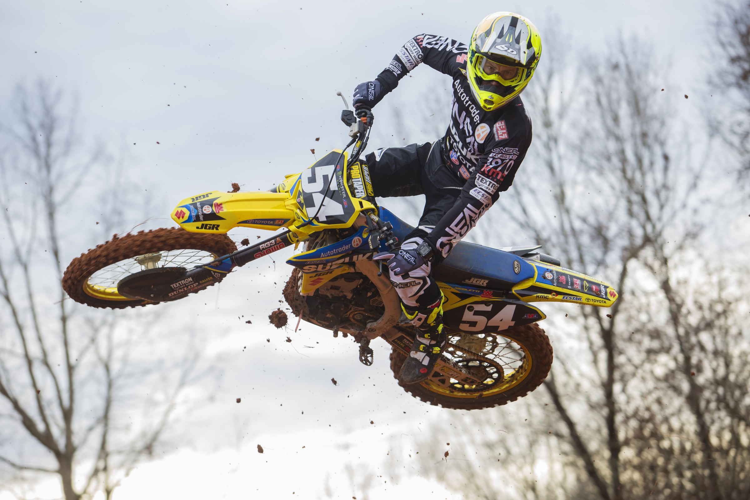 Nicoletti will be filling in for Justin Bogle in the 450 Class.