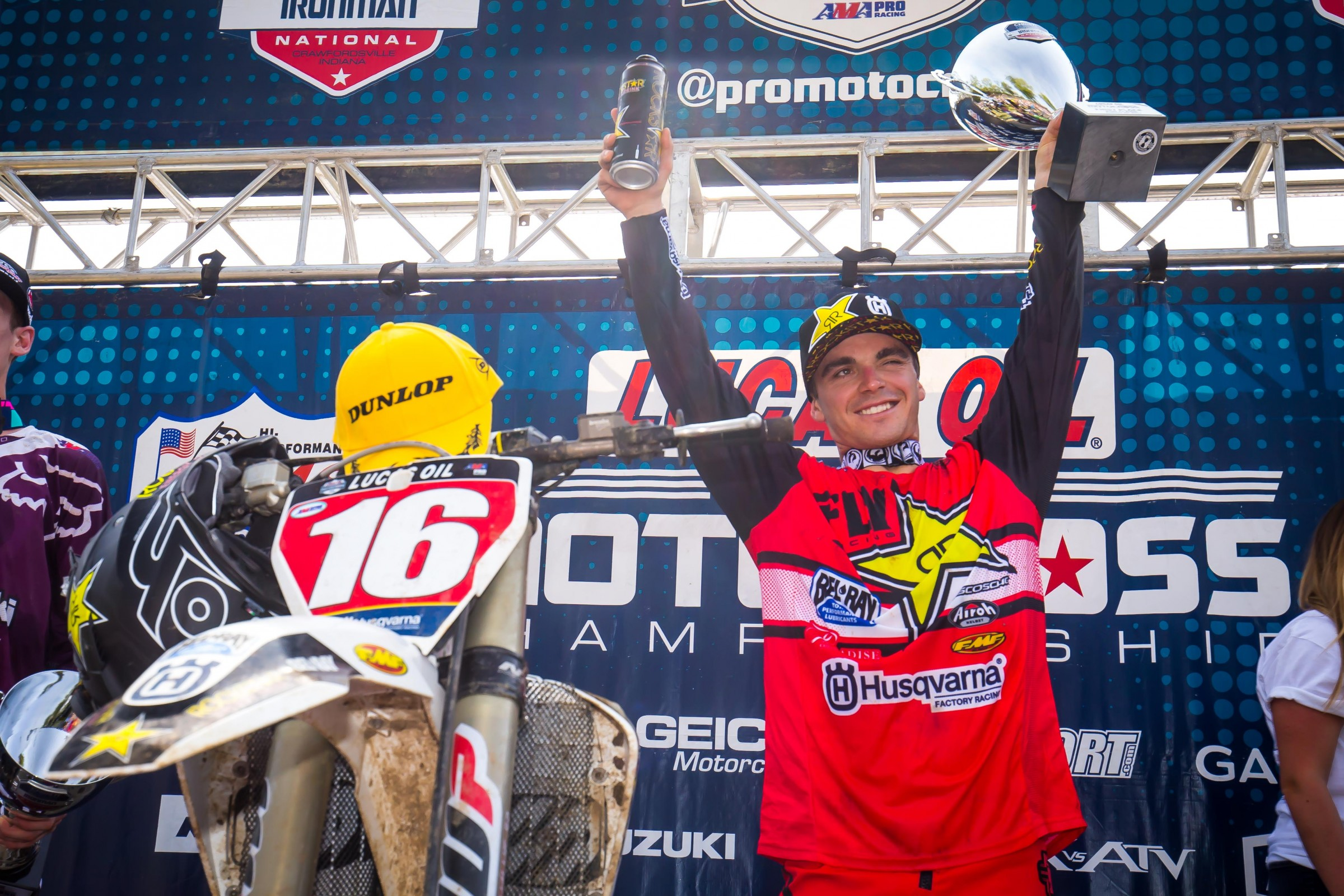Osborne is coming into his Lucas Oil Pro Motocross title defense with the 2018 Monster Energy Supercross 250SX East Region Championship under his belt.