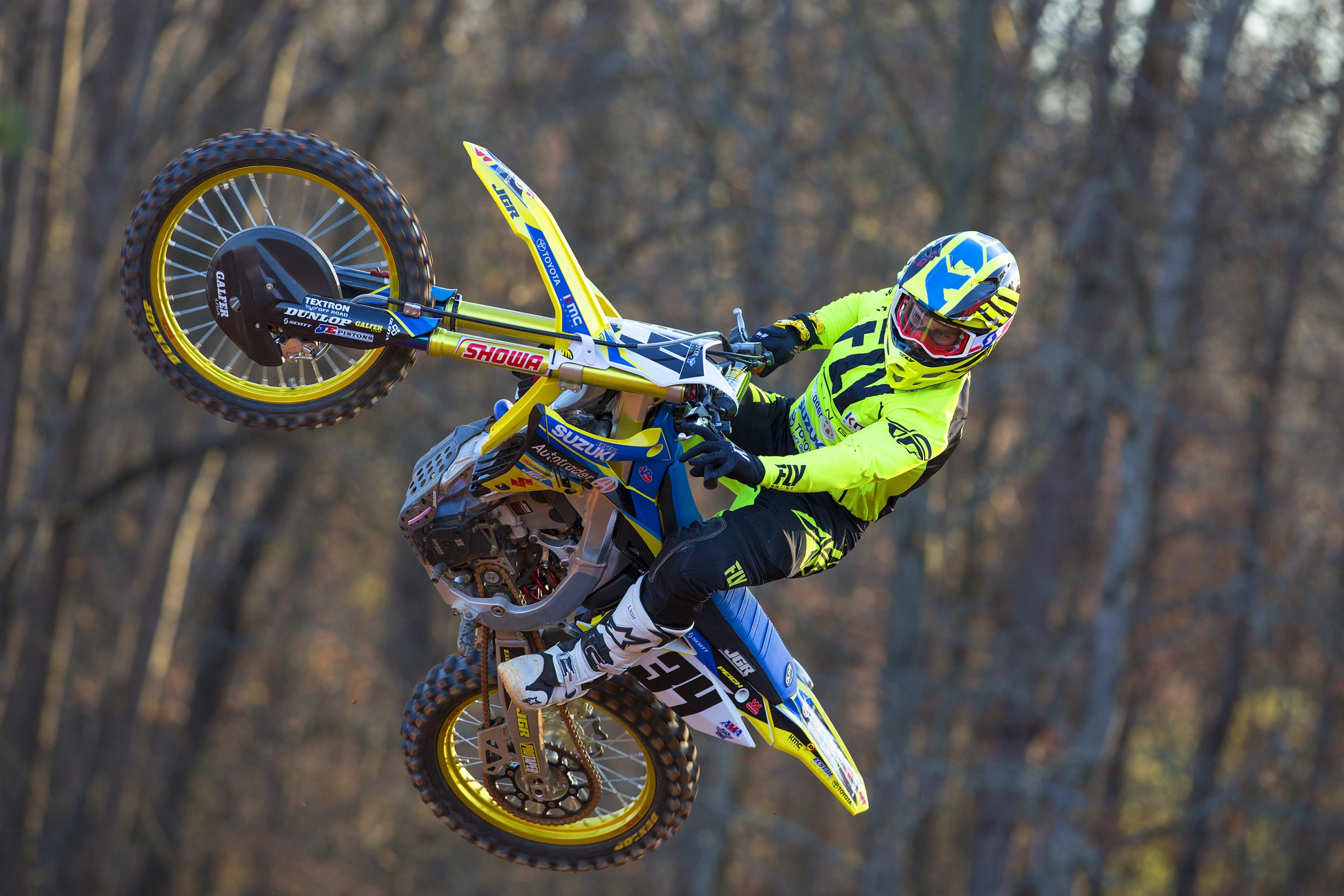 Peick, who placed sixth overall in Monster Energy Supercross, will continue to ride for Autotrader/Yoshimura Suzuki.