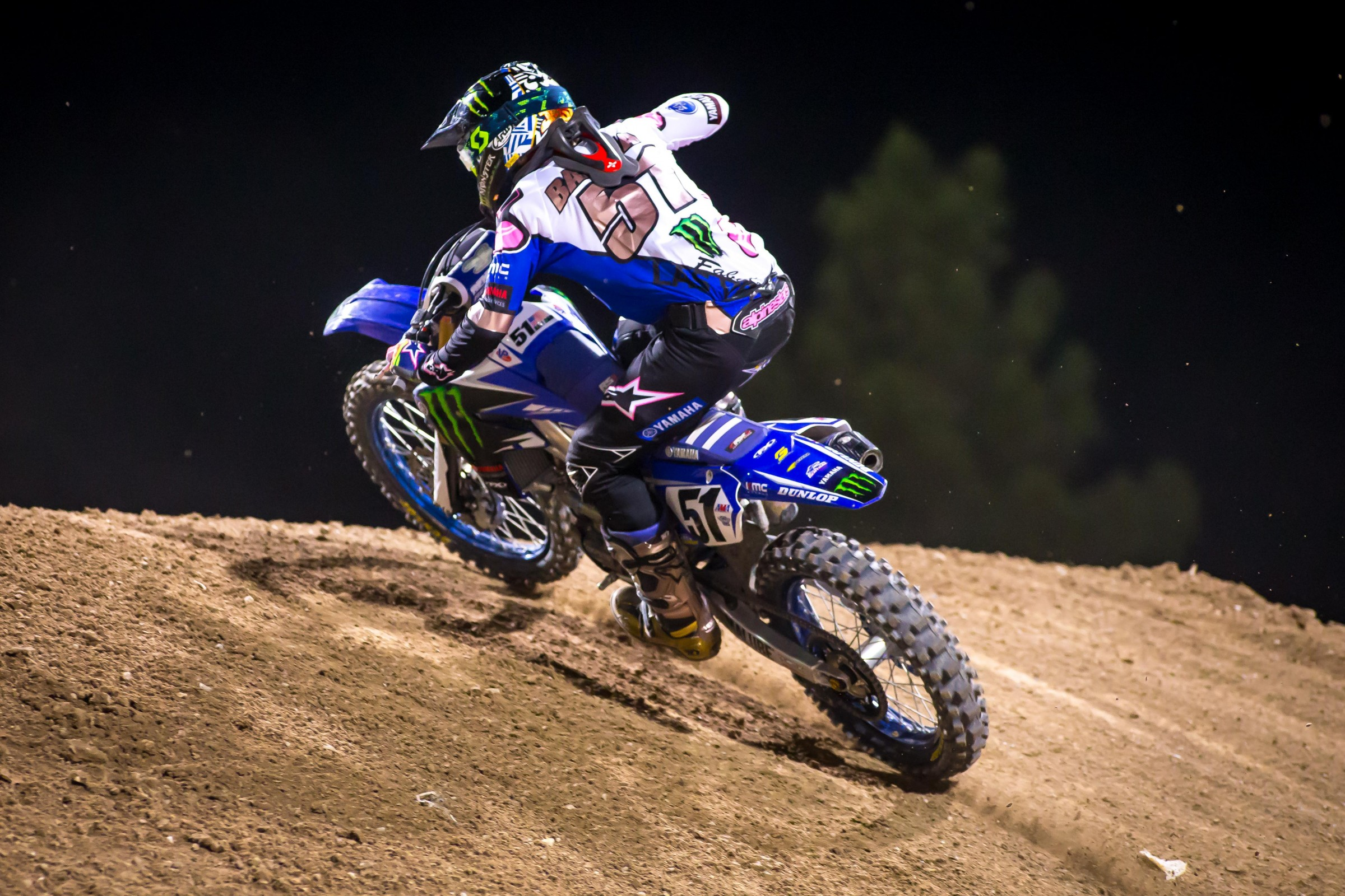 Barcia was signed to race the rest of the year with Monster Energy/Factory Yamaha after Millsaps announced his retirement.
