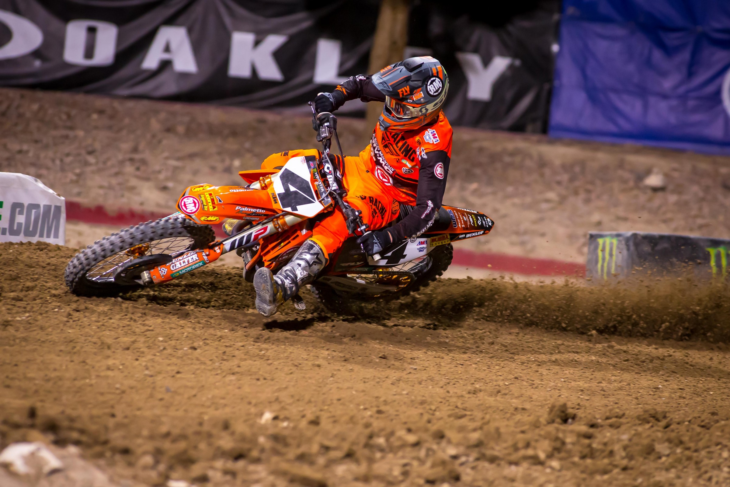 Baggett is coming off another thumb injury sustained at the Atlanta Supercross, but returned to form at the end of the season, making the podium twice in the final two rounds.