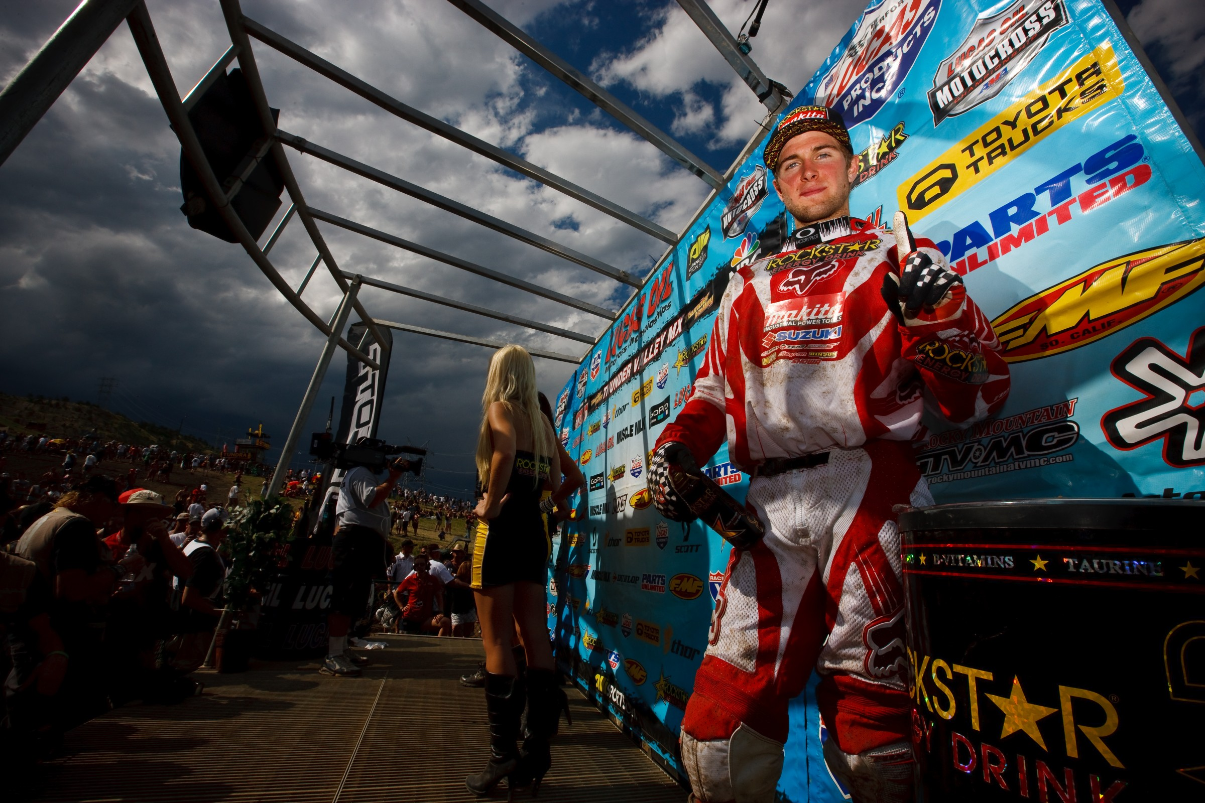 Dungey took the win at the track in 2010.