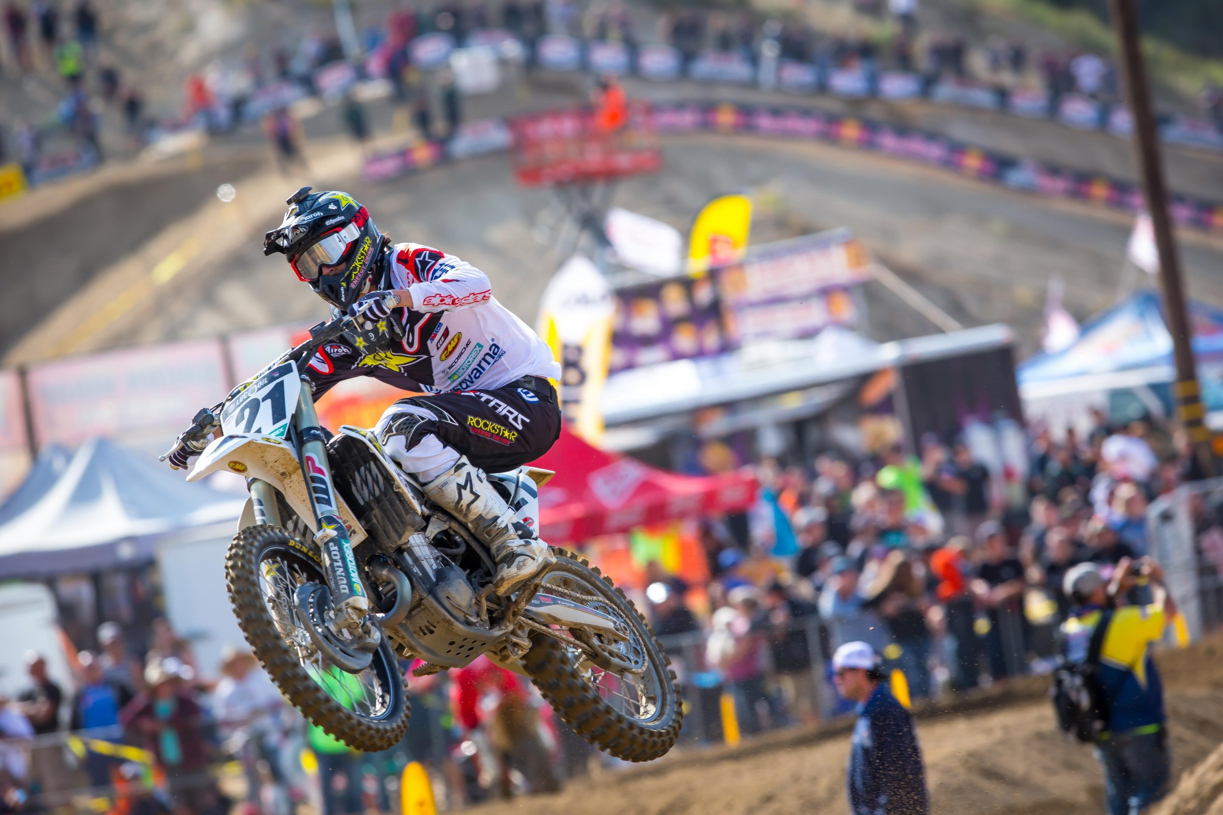 Anderson went 4-3 at the first two nationals of the year, and led large stretches of the second moto at each race.
