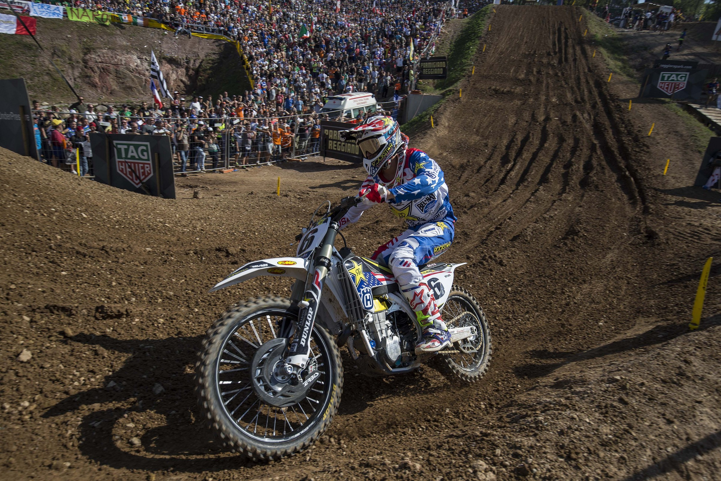 Anderson raced for Team USA at the 2016 Motocross of Nations, but a bizarre crash left him with a concussion and he was unable to compete in the final moto.