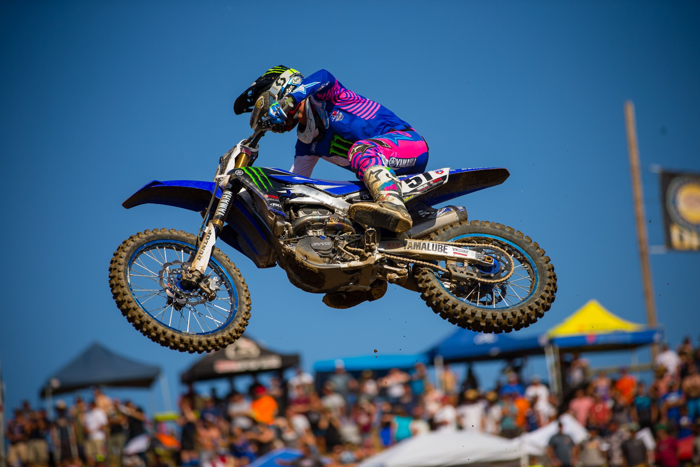 Barcia has gone 3-4-6 in the first three races of the Pro Motocross season.