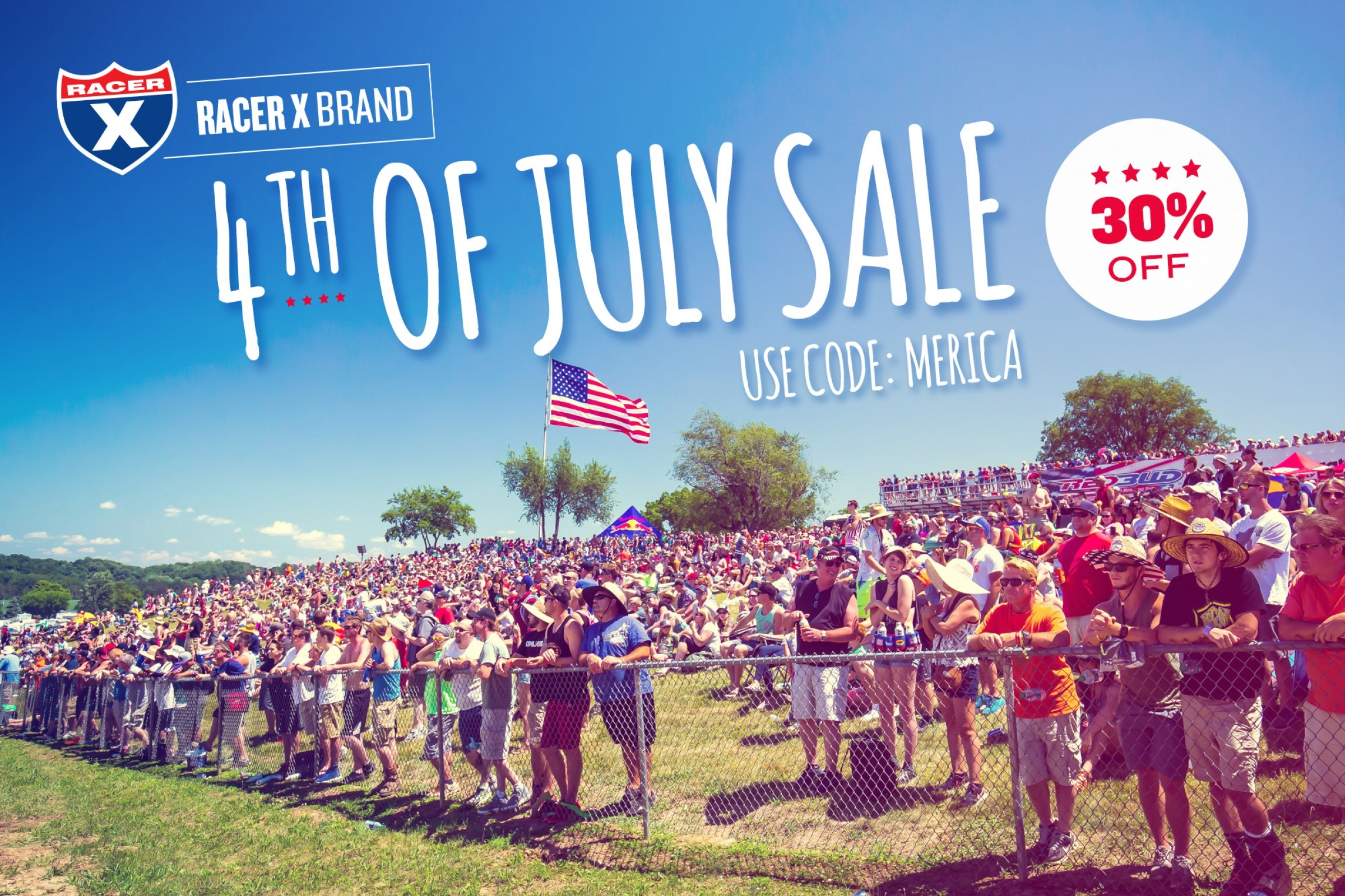 Fourth of July Sale | 30% Off All Products