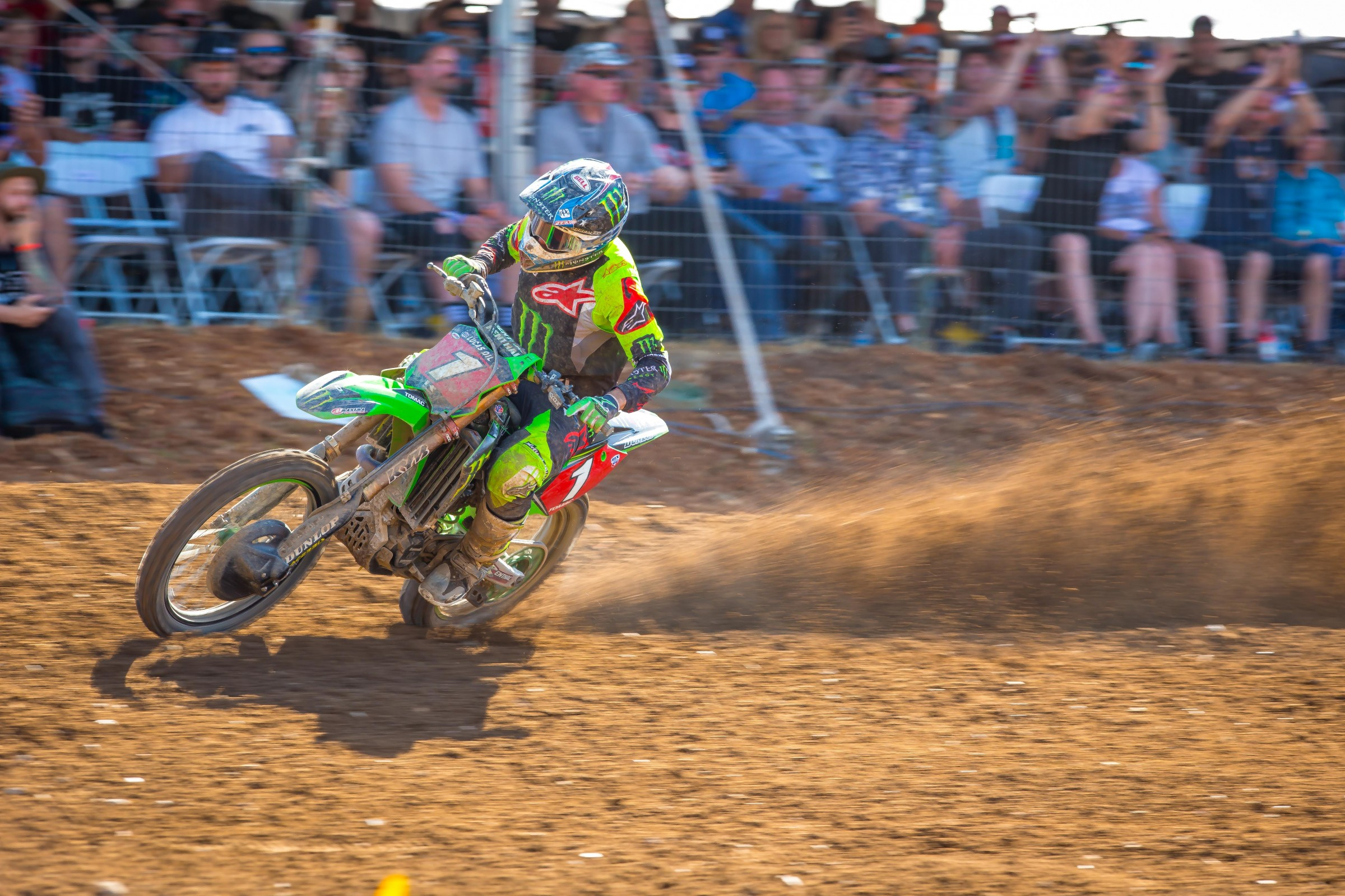 Tomac is the first rider since 2008 to win six straight motos at the beginning of the season.