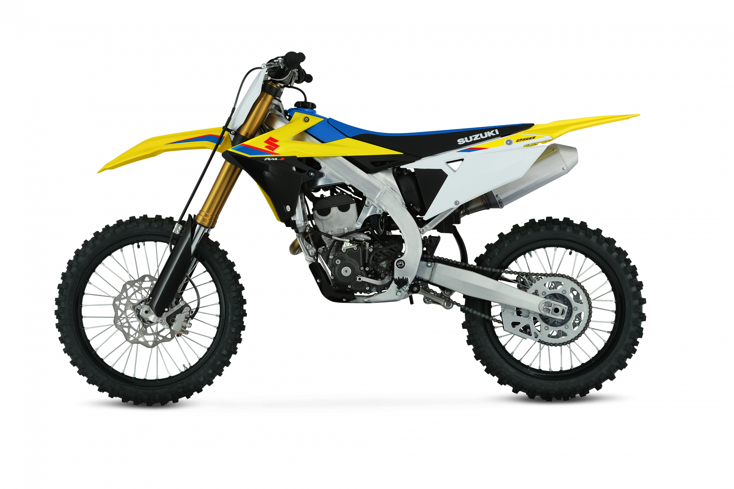 The redesigned 2019 RM-Z250 from Suzuki.