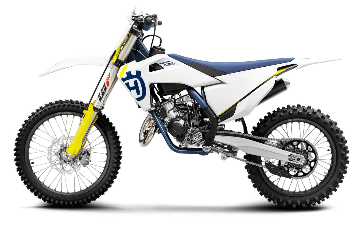 The two-stroke 2019 Husqvarna TC 125