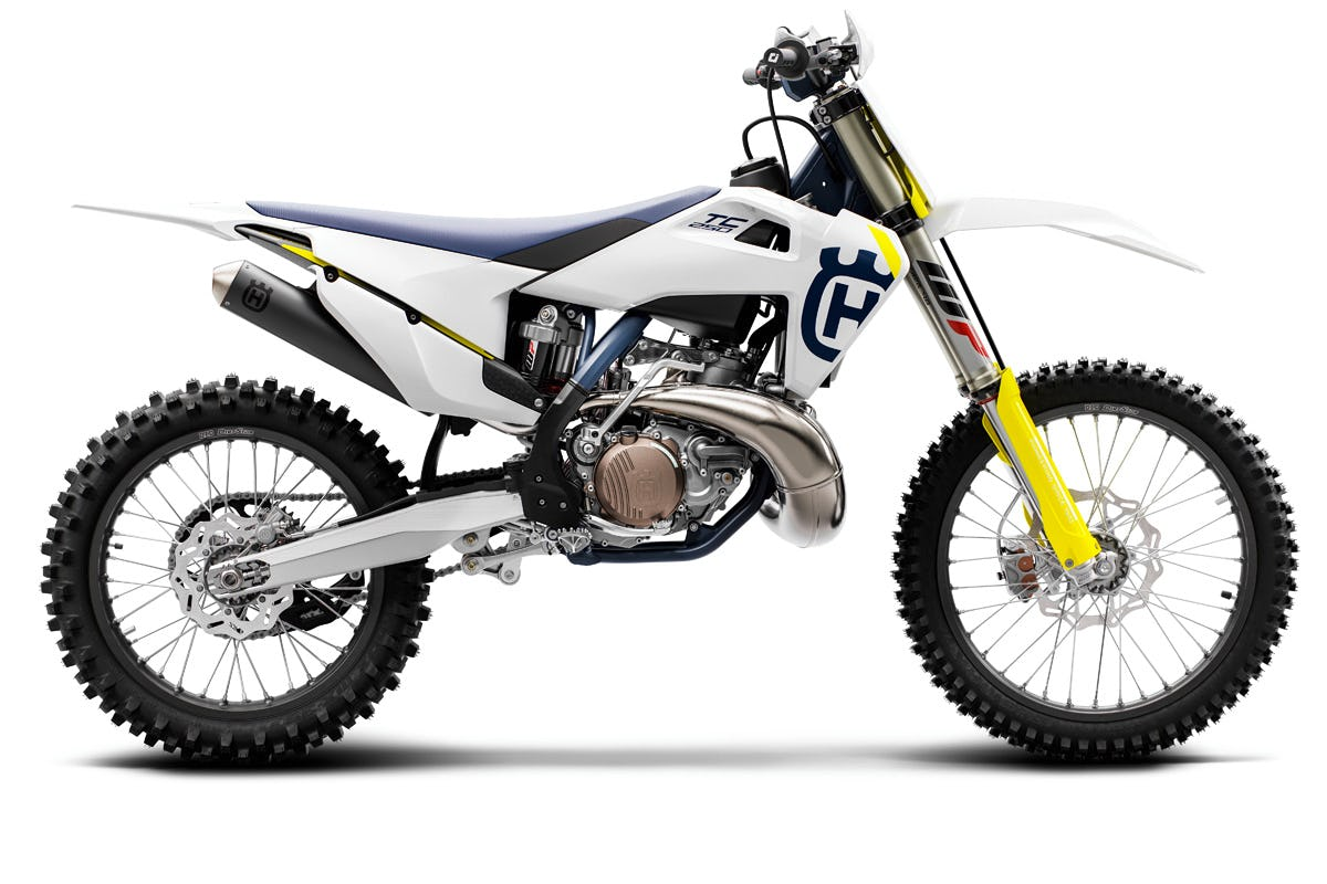 The two-stroke 2019 Husqvarna TC 250