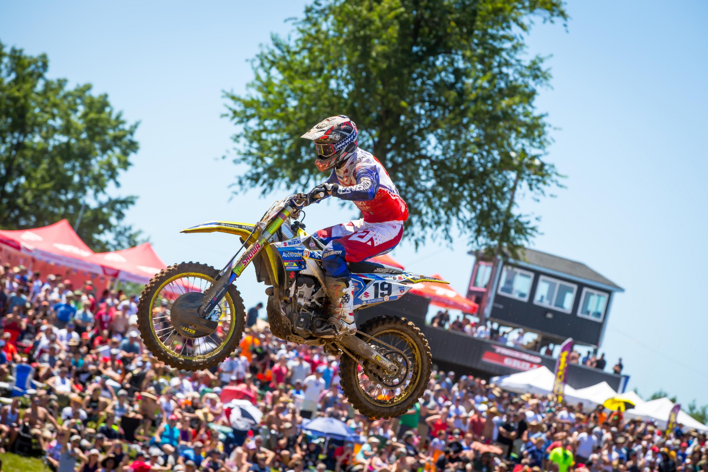 Bogle entered the top 20 with 24-18 moto scores in his second race back from injury at RedBud.