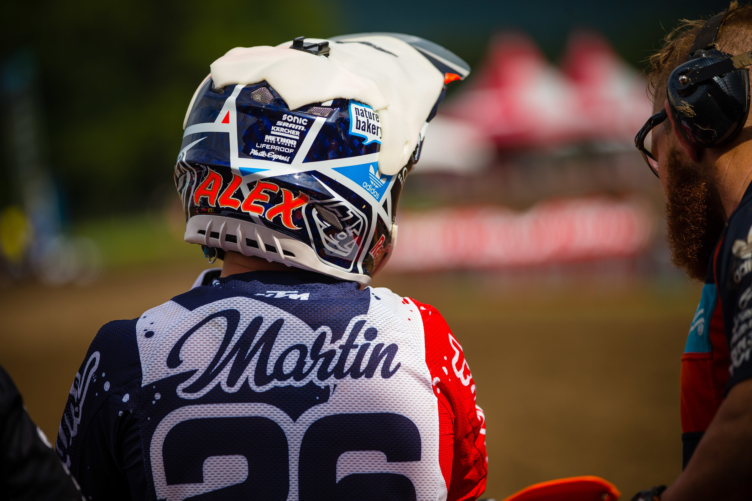 Martin went 6-7 overall at the last two races and is 77 points behind leader Plessinger in championship standings.