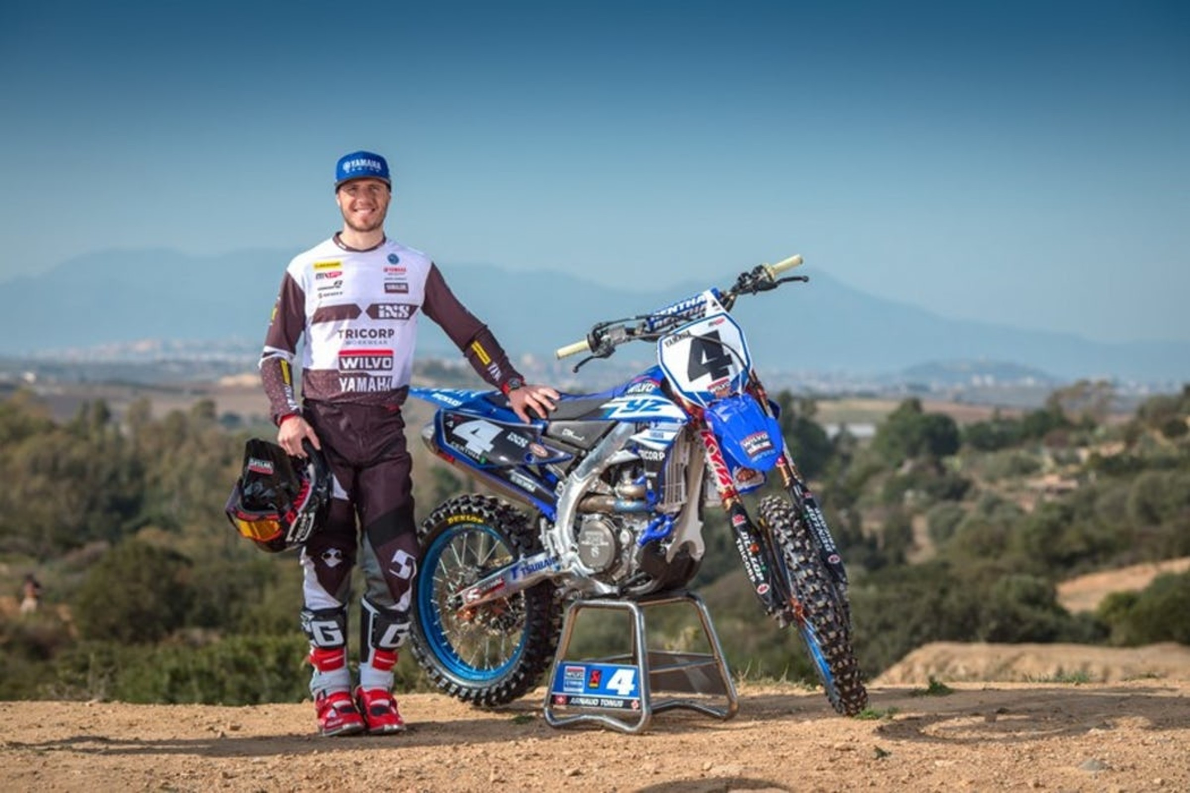 Arnaud Tonus Out For Motocross of Nations