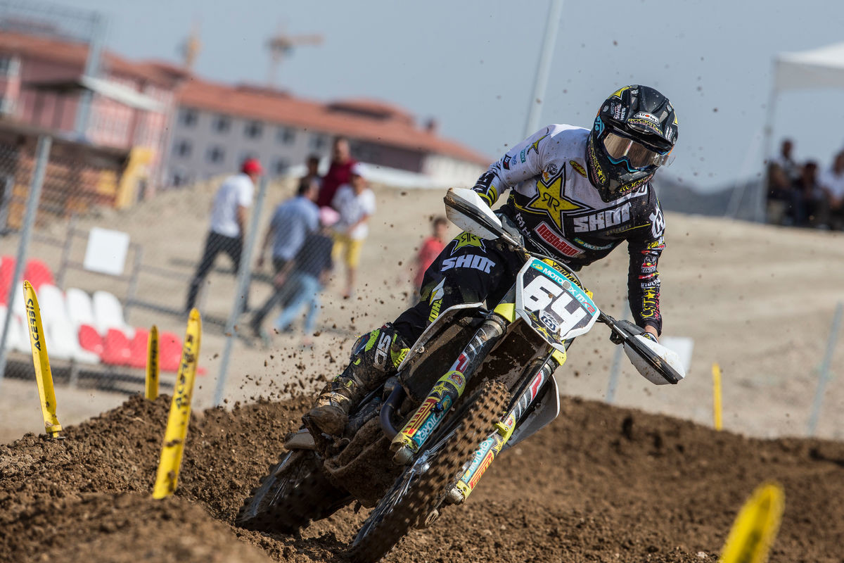 Covington won the MX2 overall on Sunday.