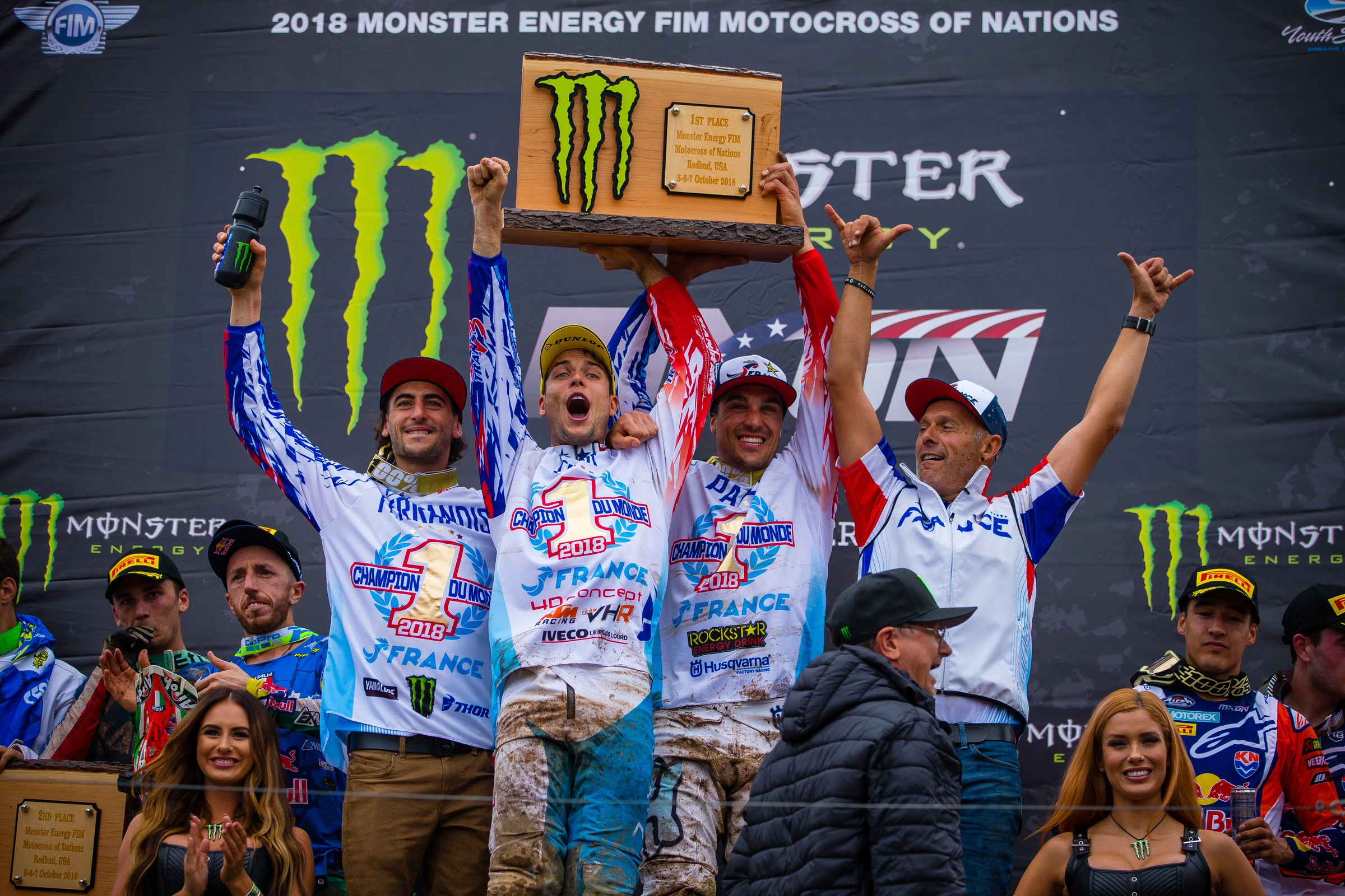 Between the Motos: Team France