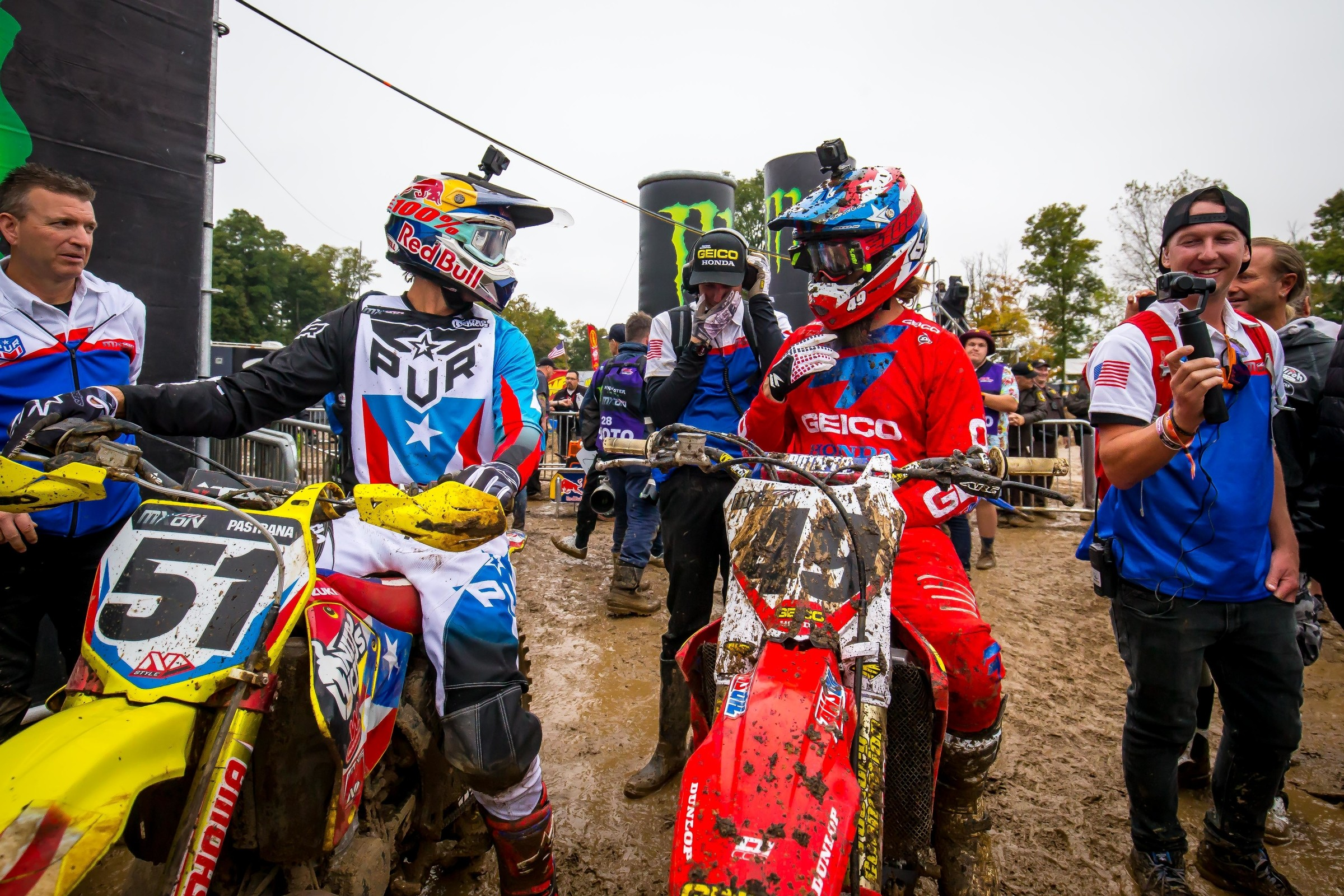 Watch: Travis Pastrana GoPro Backflip and Lap - Racer X Online