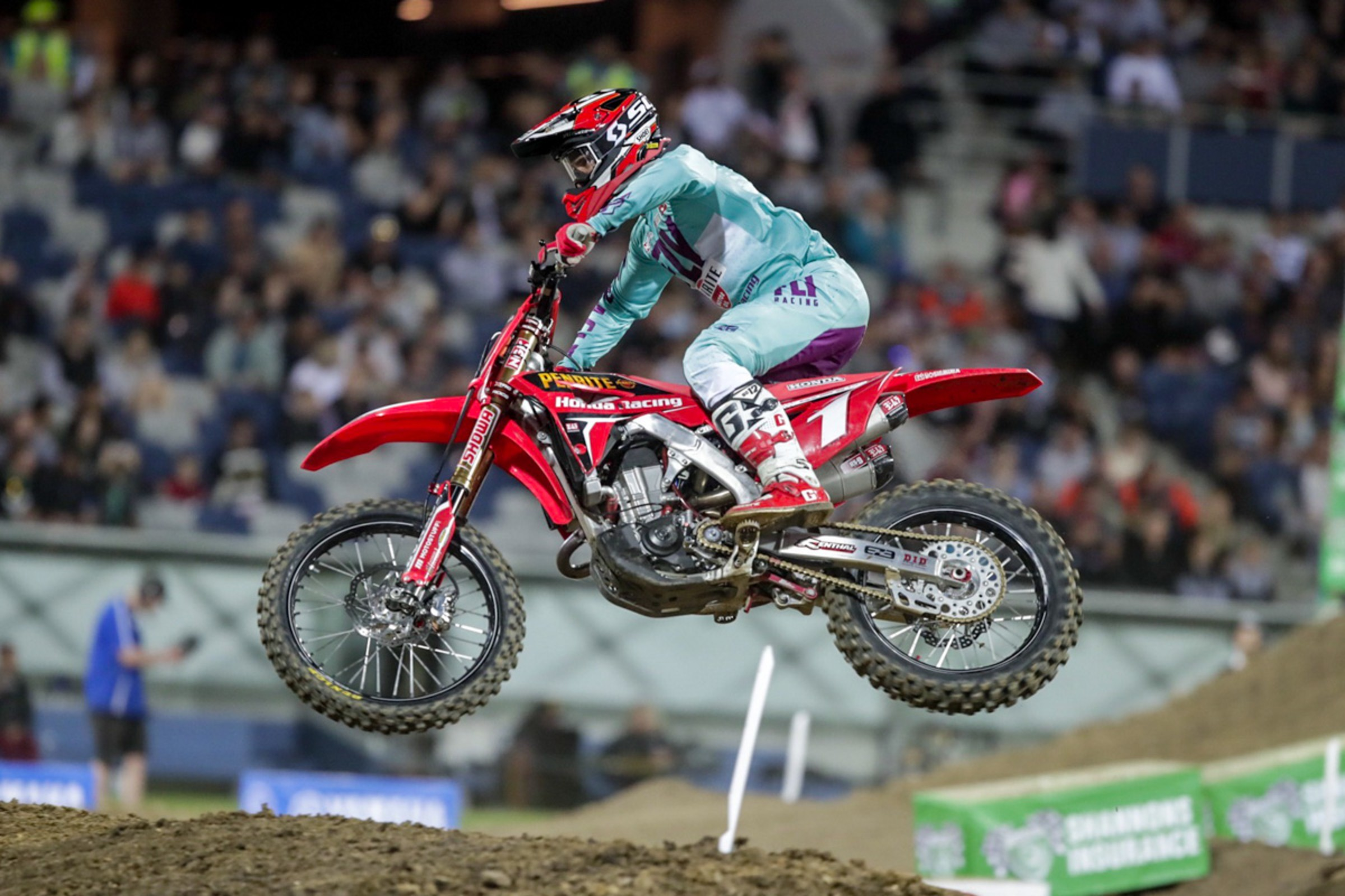 Justin Brayton Wins Third Straight To Open Australian Supercross Championship