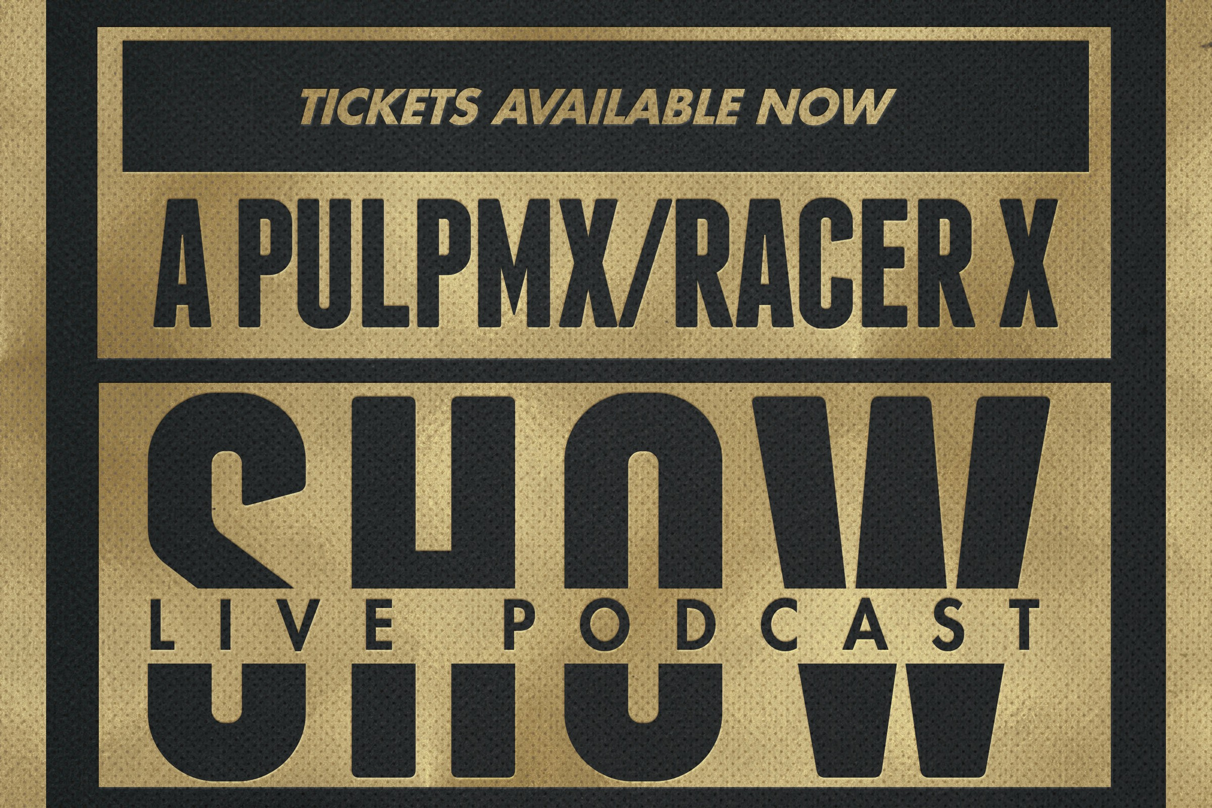 Live Show Before A1! Watch The PulpMX/Racer X Show In Person Tonight!